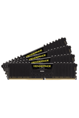 CORSAIR CMK32GX4M4Z3200C16 32GB (4X8GB) DDR4 3200MHz CL18 VENGEANCE BLACK LPX SOGUTUCULU DIMM BELLEK