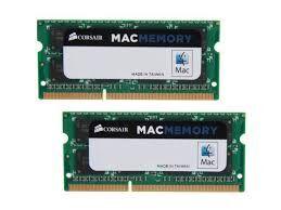 CORSAIR CMSA16GX3M2A1600C11 16GB (2X8GB) DDR3 1600MHz CL11 APPLE MAC UYUMLU DIMM BELLEK