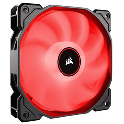 CORSAIR - CORSAIR CO-9050086-WW AF140 140mm LED FAN SINGLE PACK RED