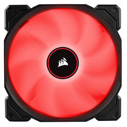 CORSAIR - CORSAIR CO-9050089-WW AF140 140mm LED FAN DUAL PACK RED
