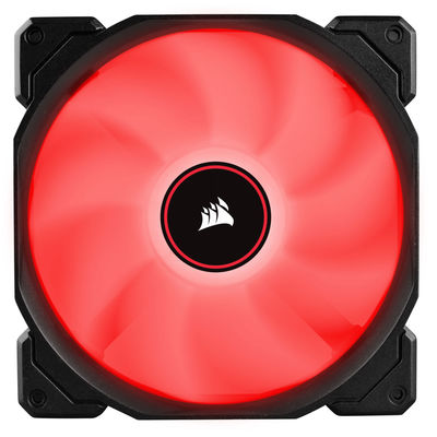 CORSAIR CO-9050089-WW AF140 140mm LED FAN DUAL PACK RED