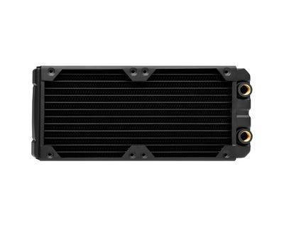 Corsair CX-9030002-WW Radiator, XR5 240 (2x120mm radiator; 33mm thick), A slim type 240mm rad