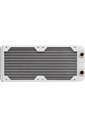 CORSAIR - CORSAIR CX-9030007-WW Radiator XR5 240 WHITE Hydro X Series XR5 240mm Water Cooling Radiator — White