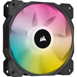 CORSAIR - CORSAIR FAN - CO-9050109-WW iCUE SP120 RGB ELITE Performance 120mm PWM Fan — Triple Pack with Lighting Node CORE