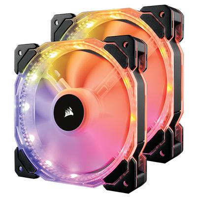 Corsair HD140 RGB 2xFan+Kontrolcü CO-9050069-WW ( 28.6dBA/600-1350RPM/74 CFM )