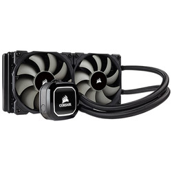 CORSAIR - Corsair Hydro H100x 240mm Sıvı Soğutma Kiti ( 2x120mm Fan/AM4/115x/2066/2011 )