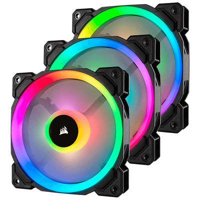 Corsair LL120 RGB 3xFan ve Lighting Node PRO Kit ( CO-9050072-WW/24.8dBA/600-1500RPM/43.25 CFM )