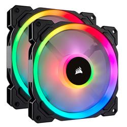CORSAIR - Corsair LL140 RGB 2xFan ve Lighting Note PRO Kit ( CO-9050074-WW /25dBA/600-1300RPM/51.5 CFM )