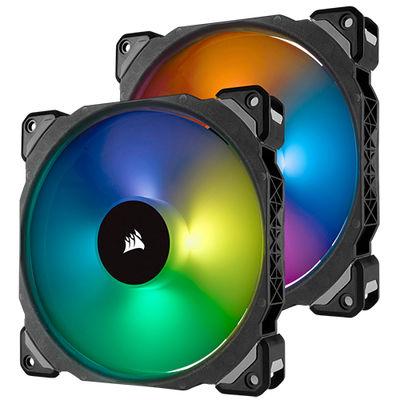 Corsair ML140 PRO RGB 2xFan ve Lighting Node PRO ( CO-9050078-WW /20.4dBA/400-1200RPM/55.4 CFM )