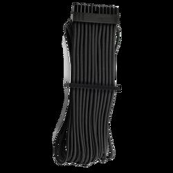 CORSAIR - CORSAIR POWER CORD - CP-8920229 Premium Individually Sleeved ATX 24-Pin Cable Type 4 Gen 4 – Black