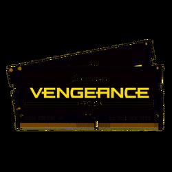 CORSAIR - CORSAIR RAM - CMSX16GX4M2A3000C18 VENGEANCE SODIMM Vengeance® Series 16GB (2 x 8GB) DDR4 SODIMM 3000MHz CL18 Memory Kit