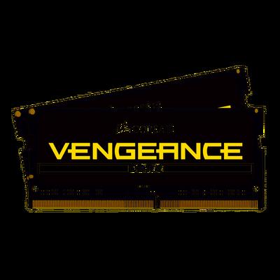 CORSAIR RAM - CMSX16GX4M2A3000C18 VENGEANCE SODIMM Vengeance® Series 16GB (2 x 8GB) DDR4 SODIMM 3000MHz CL18 Memory Kit