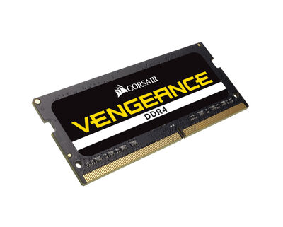 CORSAIR RAM - CMSX32GX4M1A2666C18 VENGEANCE DDR4 - CORSAIR Vengeance 32GB (1x32GB) DDR4 SODIMM 2666MHz CL18 Memory Kit