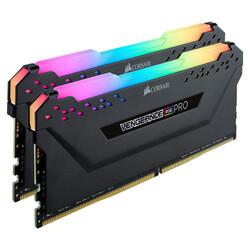 CORSAIR - CORSAIR RAM -CMW16GX4M2D3600C16 VENG RGB PRO 16GB DDR4, 3600MHz 32GB 2x8GB DIMM, Unbuffered, 16-19-19-36, XMP 2.0, VENGEANCE RGB PRO Heatspreader, RG