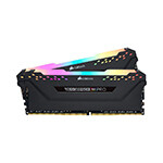 CORSAIR - CORSAIR RAM - CMW8GX4M1Z3200C16 VENG RGB PRO DDR4, 3200MHz 8GB 1x8GB DIMM, Unbuffered, 16-18-18-36, Base SPD@2666, XMP 2.0, VENGEANCE RGB PRO Heatsp