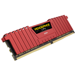 CORSAIR - CORSAIR Vengeance Lpx Kırmızı 16GB (2X8) 3000Mhz DDR4 Soğutuculu CL15 Pc Ram CMK16GX4M2B3000C15R