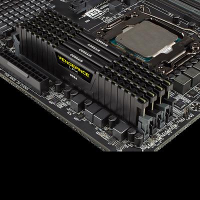 Corsair VENGEANCE Siyah DDR4-2666Mhz CL16 8GB (1X8GB) Sıngle (16-18-18-35) (CMK8GX4M1A2666C16)