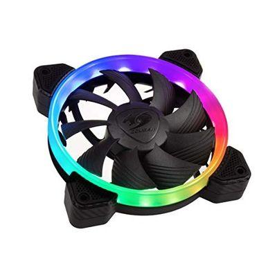 COUGAR 12cm Vortex RGB FCB CF-V12FB-RGB Siyah RGB Kasa Fanı