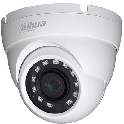 DAHUA (HAC-HDW2241M-0280B) 1-2.8 2MP 2.8MM IP67 1080P HDCVI 4IN1 IR DOME STARLIGHT KAMERA-30MT.