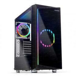 Dark - Dark COSMOS 500w 80+ 2x12cm Dual ARGB Fan USB3.0 T-Glass ATX Oyuncu Kasa ( Yeni )