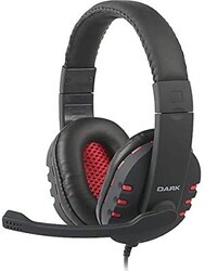 DARK - DARK DK-AC-GH100 Stereo Siyah Mikrofonlu Kulaklık