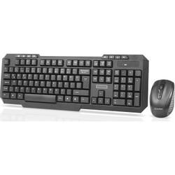 DARK - DARK DK-AC-KMW1010 Q Türkçe Kablosuz Multimedya Siyah Klavye+ Mouse