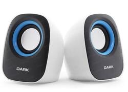DARK - DARK DK-AC-SP100 1+1 6W Siyah-Beyaz Hoparlör