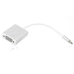 DARK - Dark DK-AC-U31XVGA USB Type Cden VGA Full HD Dönüştürücü Adaptör Alüminyum Kasa