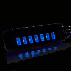 DARK (DK-AC-USB371) CONNECT MASTER 7xUSB3.0 + 1x2A USB HIZLI SARJ CIKISI USB HUB - Thumbnail