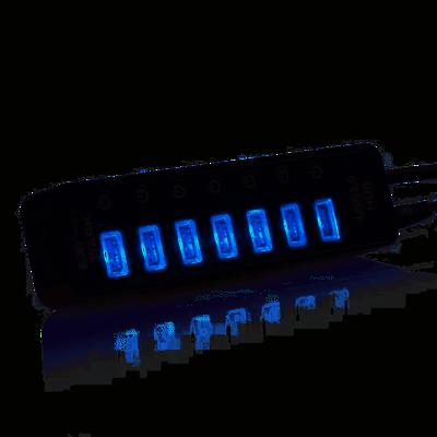 DARK (DK-AC-USB371) CONNECT MASTER 7xUSB3.0 + 1x2A USB HIZLI SARJ CIKISI USB HUB