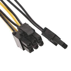 DARK DK-CB-P104 2xMolex 4pin - 6+2pin PCI-E Dönüştürücü - Thumbnail