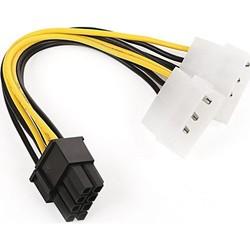 DARK - DARK DK-CB-P104 2xMolex 4pin - 6+2pin PCI-E Dönüştürücü