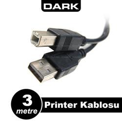 DARK - Dark DK-CB-USB2PRNL300 3Mt USB 2.0 Yazıcı Kablosu