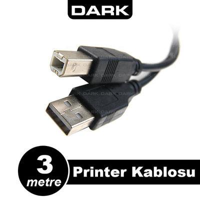Dark DK-CB-USB2PRNL300 3Mt USB 2.0 Yazıcı Kablosu