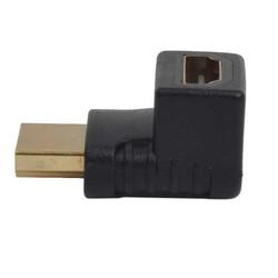DARK - DARK DK-HD-AMXF90 HDMI HDMI Çevirici Adaptör Siyah 90derece Dönüştürücü Dirsek