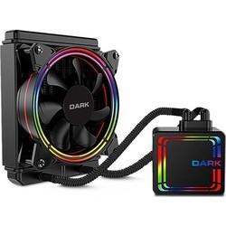 DARK - DARK DKCCW126 AquaForce W126 2066-2011-115X-775 AM4-AM3 120 mm Fixed RGB LEDli Sıvı Soğutma