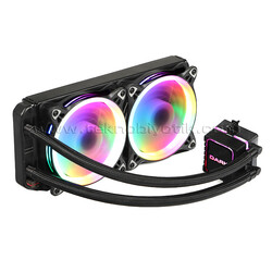 DARK - DARK DKCCW244 AquaForce W244 2066-2011-115X-775 AM4-AM3 240 mm 2xÇevresel Adressable RGB Sıvı Soğutma