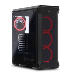 DARK DKCHGUARDIAN580 500W 80+ GUARDIAN 4 x 12cm Dual RGB Fanlı T-Glass ATX Oyuncu Kasa - Thumbnail