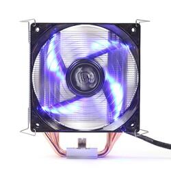DARK - DARK Freezer X120R DKCCX120R Intel,Amd Alüminyum İşlemci Fanı 12cm LED 1x Fanlı