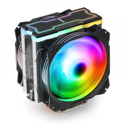Dark - Dark Freezer X129 2xAddresseble RGB LED Fanlı Kule Tipi Soğutucu