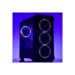 DARK - Dark Guardian Mini 4x12cm Fixed RGB LED Fanlı USB 3.0 Bilgisayar Kasası