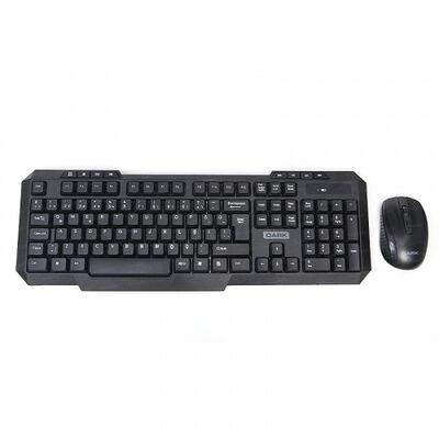 Dark KMW1010 Siyah Kablosuz Klavye Mouse Set
