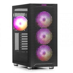 Dark - Dark MAXIMA V12, 4x12cm ARGB Fan, 2xUSB3.0, 1xType-C, RF Kontrollü Oyuncu Kasası