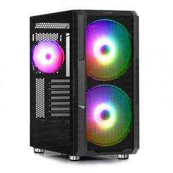 Dark - Dark MAXIMA V20, 2x20cm, 1x12cm ARGB Fan, 2xUSB3.0, 1xType-C, RF Kontrollü Oyuncu Kasası