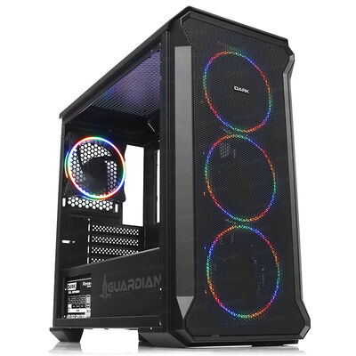 DARK Powersiz GUARDIAN DKCHGRMINI 4 X RGB FANLI GAMING MID-TOWER KASA