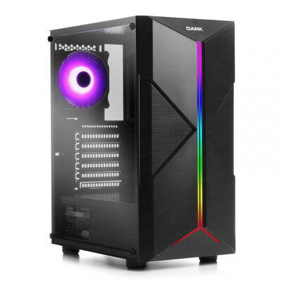 DARK Powersiz X-FORCE DKCHXFORCE 3 X RGB FANLI GAMING MID-TOWER KASA Siyah