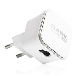 DARK - DARK RangeMax DK-NT-WRT360 300Mbps 1 Port Adaptörsüz Tasarım Router-Access Point-Repeater 2x3 dBi Antenli 802.11n Wifi