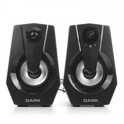 DARK - Dark SP110 1+1 Multimedia USB Speaker