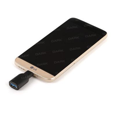 Dark USB3.1 TypeC - USB3.0 Type-A Dönüştürücü