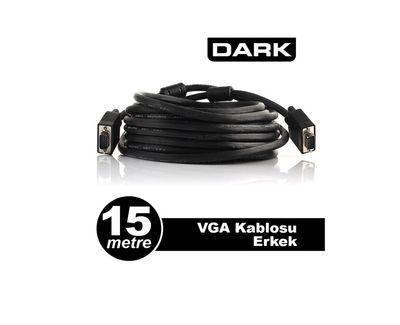 Dark VGAL1500 15m Projeksiyon Data Kablosu